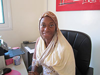 Fatou - Duma Sang Sang Gambia Ltd (Rentals and Real Estate) Staff
